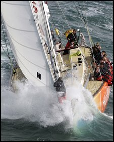 """A Clipper """"bowman"""" in less than benign conditions!"""