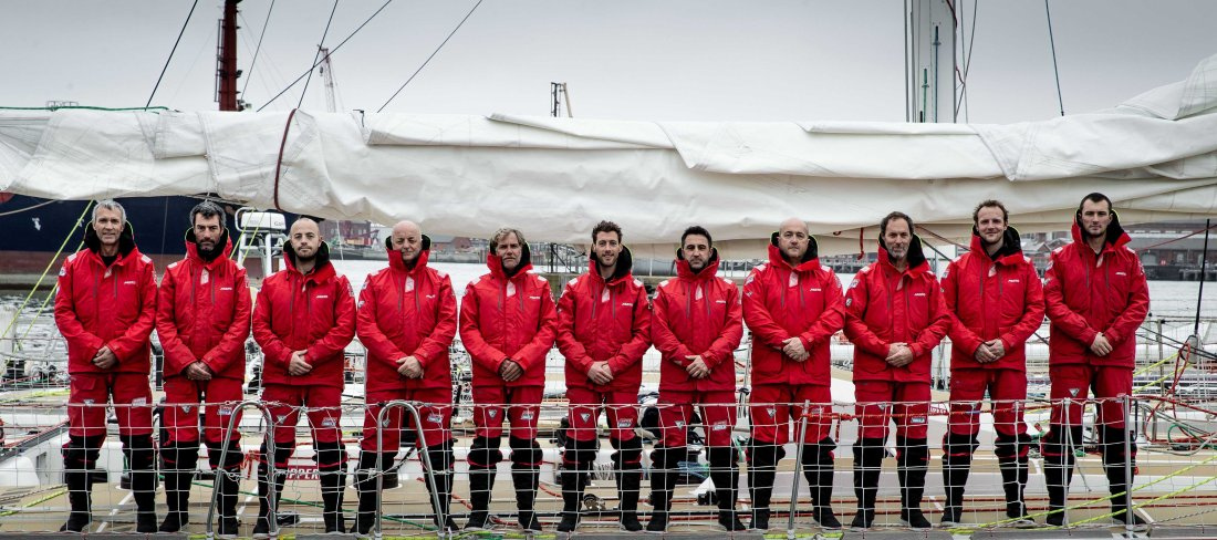 The Clipper Race Skippers.