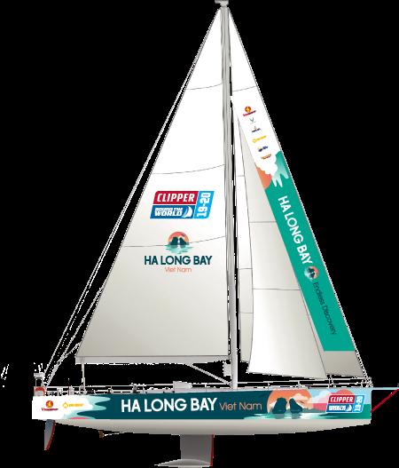 Ha-Long-Bay,-Viet-Nam---Yacht-Schematic